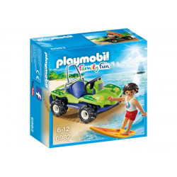 Playmobil - Surfer et buggy - 6982