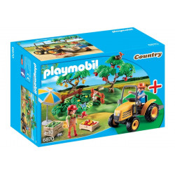 Playmobil - Starter Set Couple de fermiers avec verger - 6870