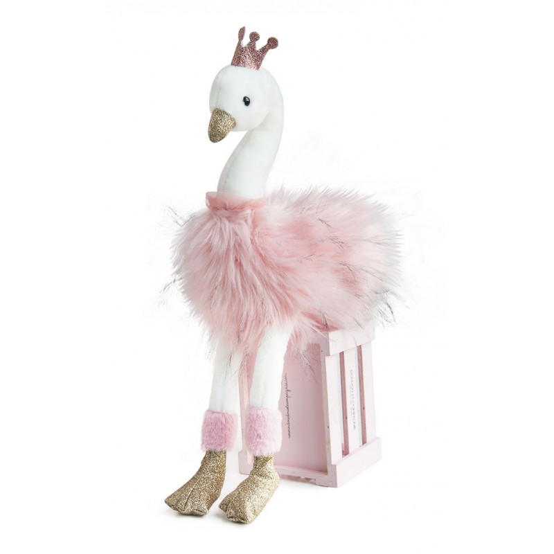Histoire d'ours - Cygne rose - 45 cm - HO2772