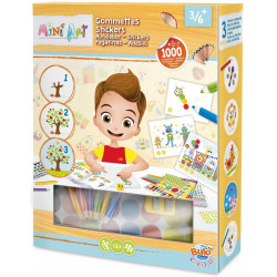 Buki - Mini art - gommettes - 4003