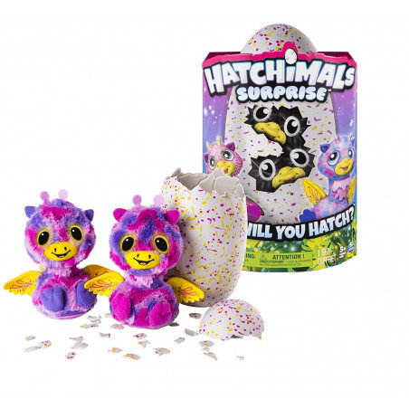 Spin Master - Hatchimals surprise rose jaune - 6037097