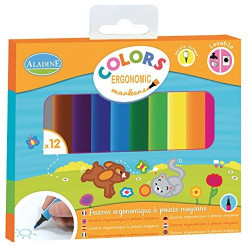 Aladine - Colors Ergonomic markers - 42024