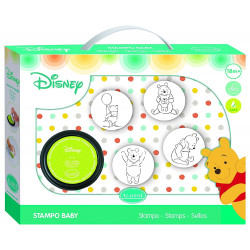 Aladine - Stampo'Baby winnie - Tampon pour enfant - 61001