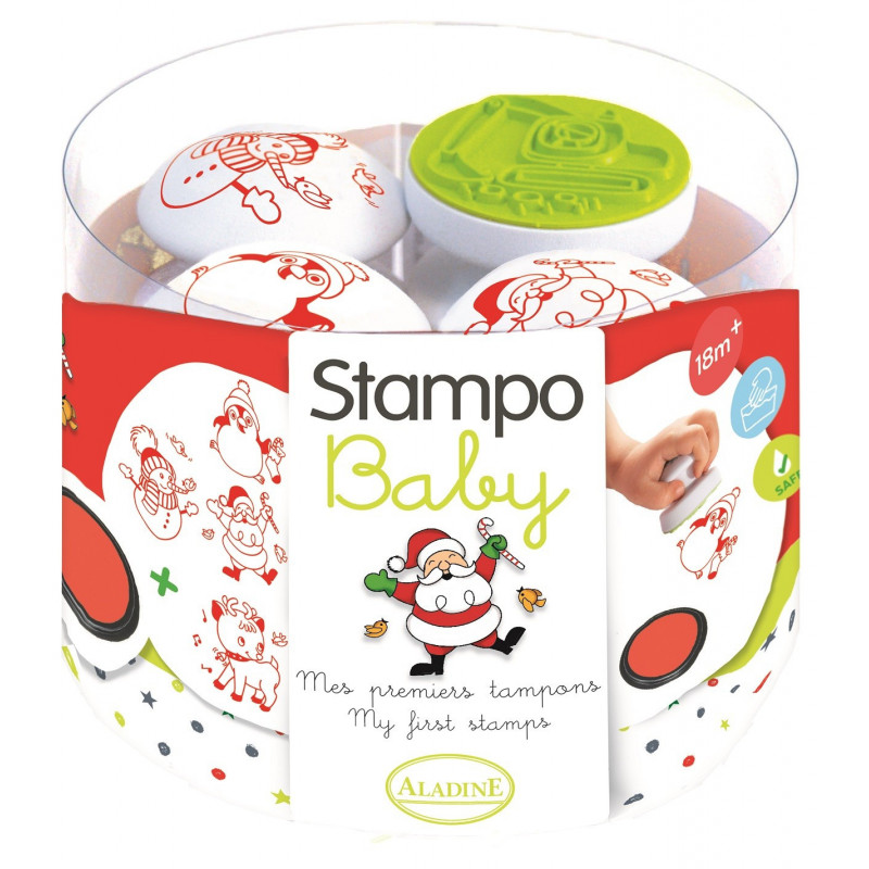 Aladine - Stampo'Baby noël - Tampon pour enfant - 03805