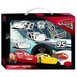 Aladine - Ma valise de tampons Cars 3 - 61104