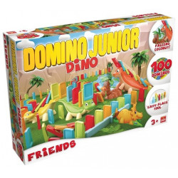 Goliath - Domino Junior Friends - Jeu d'adresse - 81018