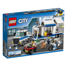 Lego - Poste de commandement mobile City - 60139