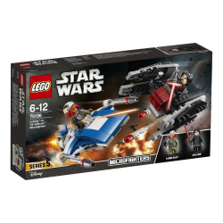 Lego - Star wars -Microfighter Ski Speeder vs. Quadripode   -75195