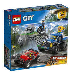 Lego - Course poursuite en Montagne City - 60172