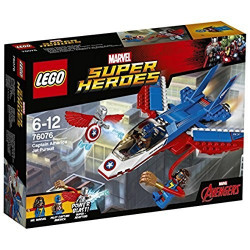 Lego - Poursuite en avion de captaina - 76076