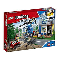 Lego -Course Poursuite montagne City junior - 10751