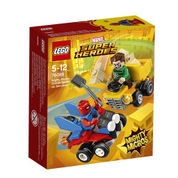 Lego -Spiderman contre Sandman- 76089