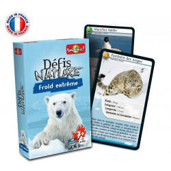 Bioviva - Défis nature - Froid extrême - Jeu de cartes - Made in France - 286022