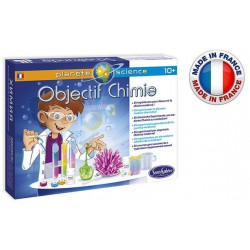 SentoSphère - Objectif Chimie - Jeu de chimie - 2801 - Made in France