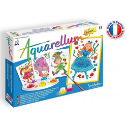 SentoSphère - Aquarellum Junior - Alice au pays des merveilles - 6501 - Made in France