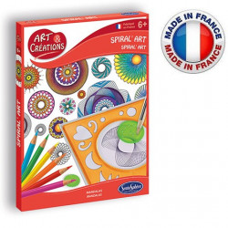SentoSphère - Art & créations - Spiral' art - Mandalas - 2081 - Made in France