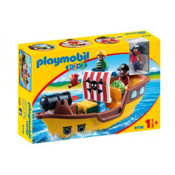 Playmobil - Bâteau de Pirates - 9118
