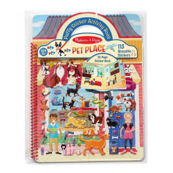 Melissa & Doug - Album Sticker pets - 19429