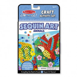 Melissa & Doug - Sequin art animaux - 19438