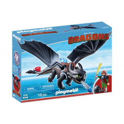 Playmobil - Harold et Krokmou - Dragons - 9246