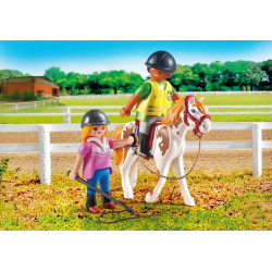 Playmobil - Monitrice d'Equitation - Country - 9258