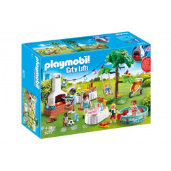 Playmobil - Famille et Barbecue Estival - CityLife - 9272