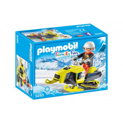 Playmobil - MotoNeige - Family Fun - 9285