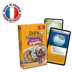Bioviva - Défis nature - Animaux Rigolos - Jeu de cartes - Made in France