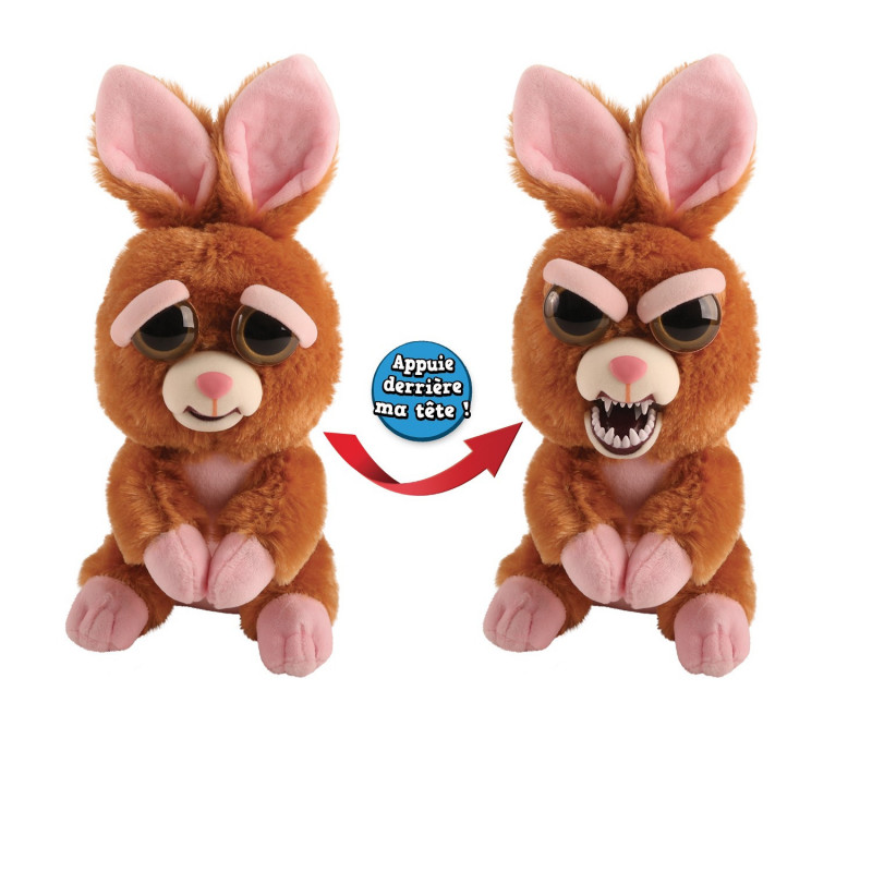 Goliath - Feisty Pets Lapin - Peluche grimace - 32323
