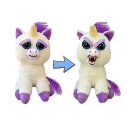 Goliath - Feisty Pets Licorne - Peluche grimace - 32295