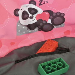 Juicy Monsters - Toy Storage Bag Panda - Taille L - 636192