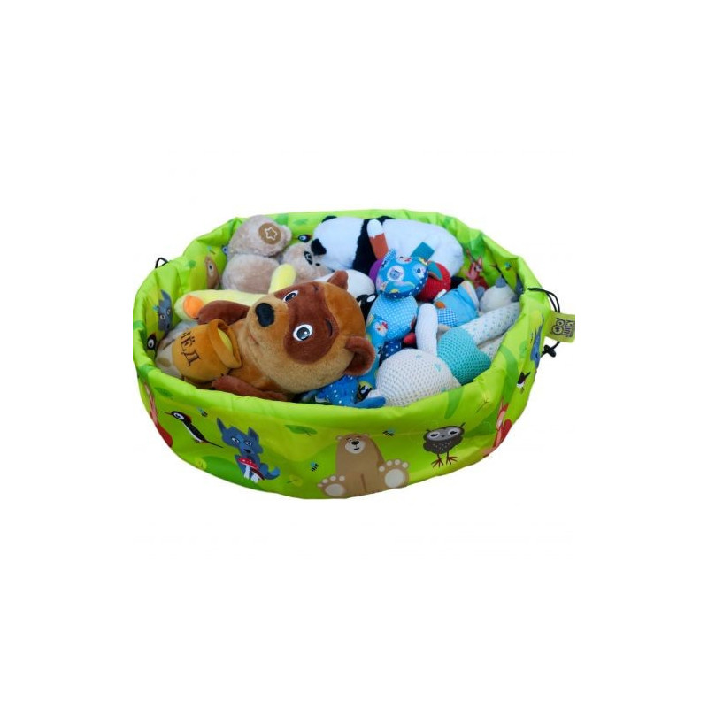 Juicy Monsters - Toy Storage Bag Animals - Taille L - 636161