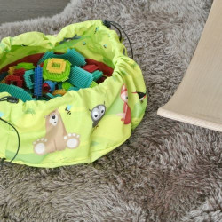 Juicy Monsters - Toy Storage Bag Animals - Taille S - 636154
