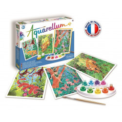 SentoSphère - Aquarellum - Le livre de la jungle - 6393 - Made in France