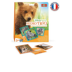 Bioviva - Disney Nature - Memo Trio - Jeu d'observation Bioviva - Made in France - 300018