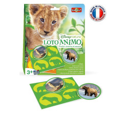 Bioviva - Disney Nature - Loto Animo - Jeu éducatif Bioviva - Made in France - 300025