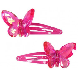 Great Pretenders - Barrettes - Papillon - 88019rose