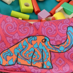 Juicy Monsters - Toy Storage Bag Cambodia Pink - Taille L - 636253