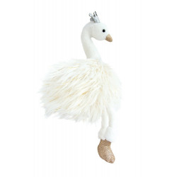 Histoire d'ours - Cygne blanc - 30 cm - HO2786