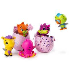 Spin Master - Pack de 5 Hatchimals - saison 2 - 6041338