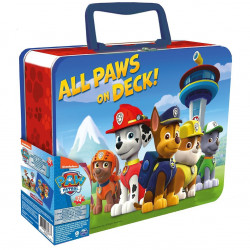 Spin Master - Paw Patrouille - Grande Valisette Métal 2 Puzzles Lenticulaires - 6033095