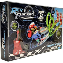Modelco - Launch'n'loop track- Circuit Rev Racerz - 90415