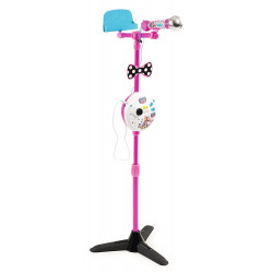 Smoby - M&B - Microphone sur pied - 520116