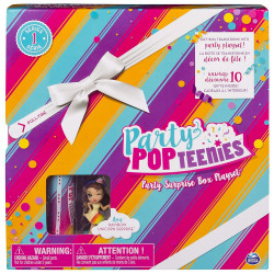 Spin Master - Party PopTeenies - Boite de Fête Surprise - 6044091