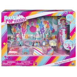 Spin Master - Party PopTeenies - Coffret de fête 3 poupées - 6045714