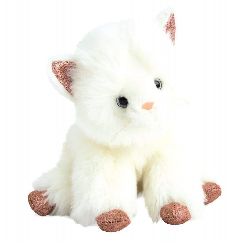 Histoire d'ours - Chat glitter - 25 cm - HO2795