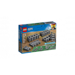 Lego - City - Pack de rails...