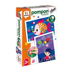 Diset - Pompon colors - Jeu...
