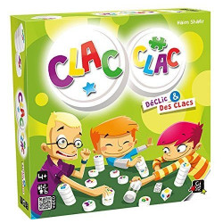 Gigamic - Clac Clac - Jeux d'ambiance