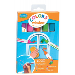Aladine - Colors window -...